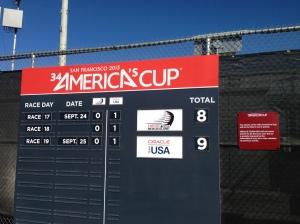 After race #17, the final's scorecard.