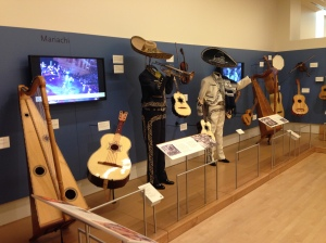 Typical display, Mariachi, in Mexico section