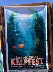 Kelpfest 2014 handmade poster