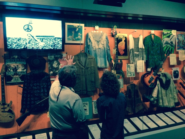 Portion of San Francisco late 60's exhibit