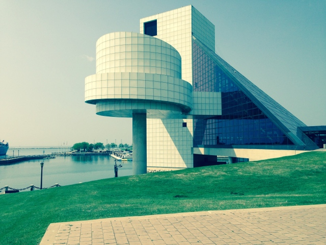 Rock Hall on Cleveland's Lake Erie Waterfront