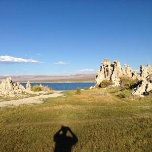 Late in a beautiful day at Mono Lake