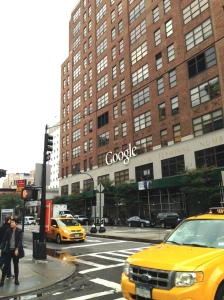 Google's building. Maritime Hotel in background.